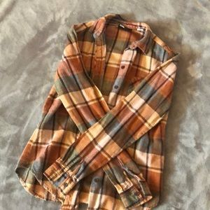 UO plaid flannel